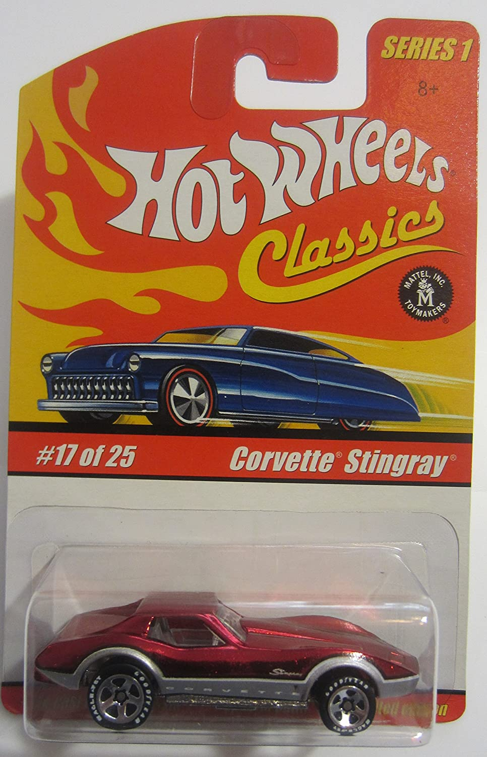 Hot Wheels Classics Series 1 Corvette Stingrau 17 of 25 by Hot Wheels