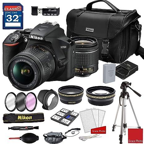 Amazon.com: Nikon D3500 - Cámara réflex digital con objetivo ...