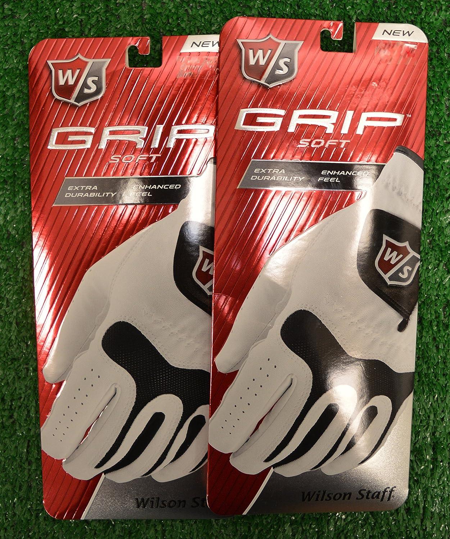2ウィルソンスタッフグリップソフトゴルフグローブ – Left Hand – Medium   B016P23C3I