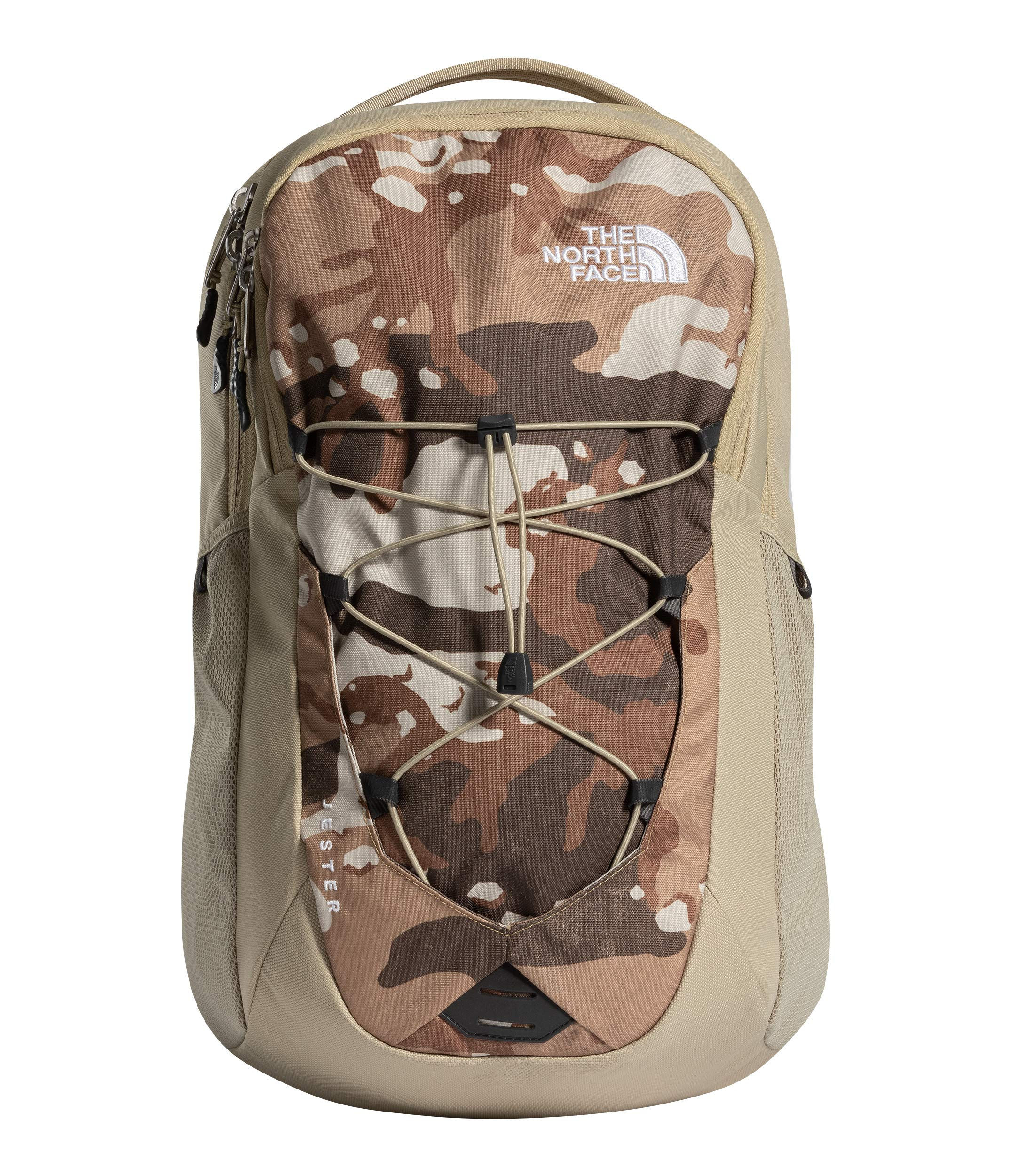 The North Face Jester Backpack, Moab Khaki Woodchip Camo Desert Print/Twill Beige by The North Face