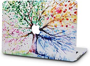 "KECC Laptop Case for MacBook Pro 13"" (2020/2019/2018/2017/2016) Plastic Hard Shell Cover A2289/A2251/A2159/A1989/A1706/A1708 Touch Bar (Four Season Tree)"