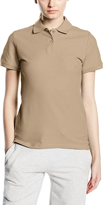 Fruit of the Loom SS078M, Polo Para Mujer: Amazon.es: Ropa y ...