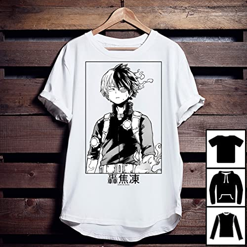 b712609ff02 Amazon.com  Todoroki Shoto My Hero Academia t shirt
