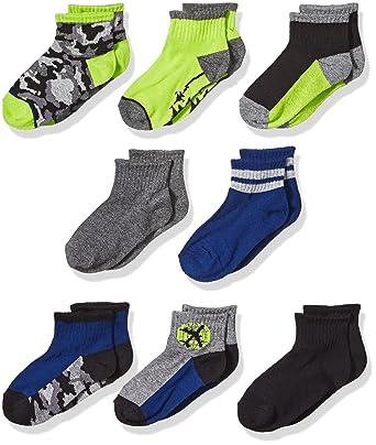 553477e4b53 Amazon.com  Stride Rite Boys  8-Pack Socks  Clothing