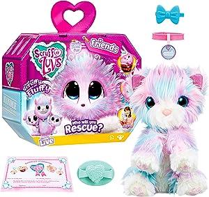 Little Live Scruff-A-Luvs Plush Mystery Rescue Pet - Candy Floss
