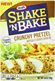 Kraft Shake N Bake Seasoned Coating Mix Box, Crunchy Pretzel, 4.6 Ounce