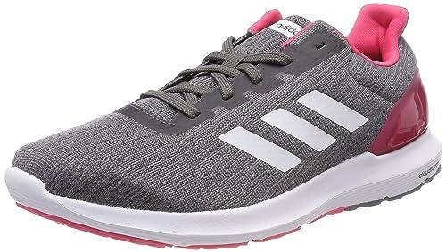adidas Cosmic 2 W, Scarpe Running Donna, Grigio Grethr/Ftwwht/grefou,