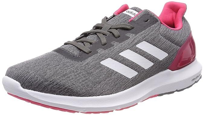 adidas Cosmic 2, Chaussures de Running Compétition Femme, Gris (Grethr/Ftwwht/Grefou Grethr/Ftwwht/Grefou), 36 2/3 EU