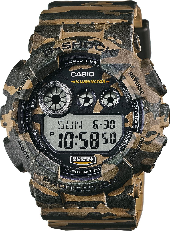Casio Men's G-Shock GD120CM-5 Multi Resin Quartz Sport Watch