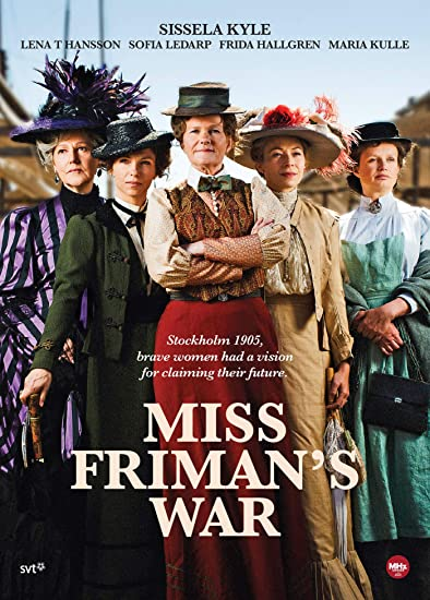 Miss Friman's War DVD Cover Art