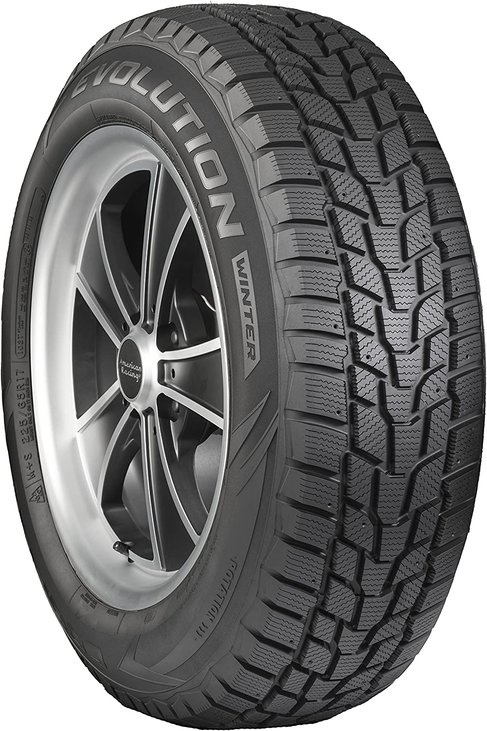 Cooper Evolution Winter Studable-Winter Radial Tire 225//75R16 104T