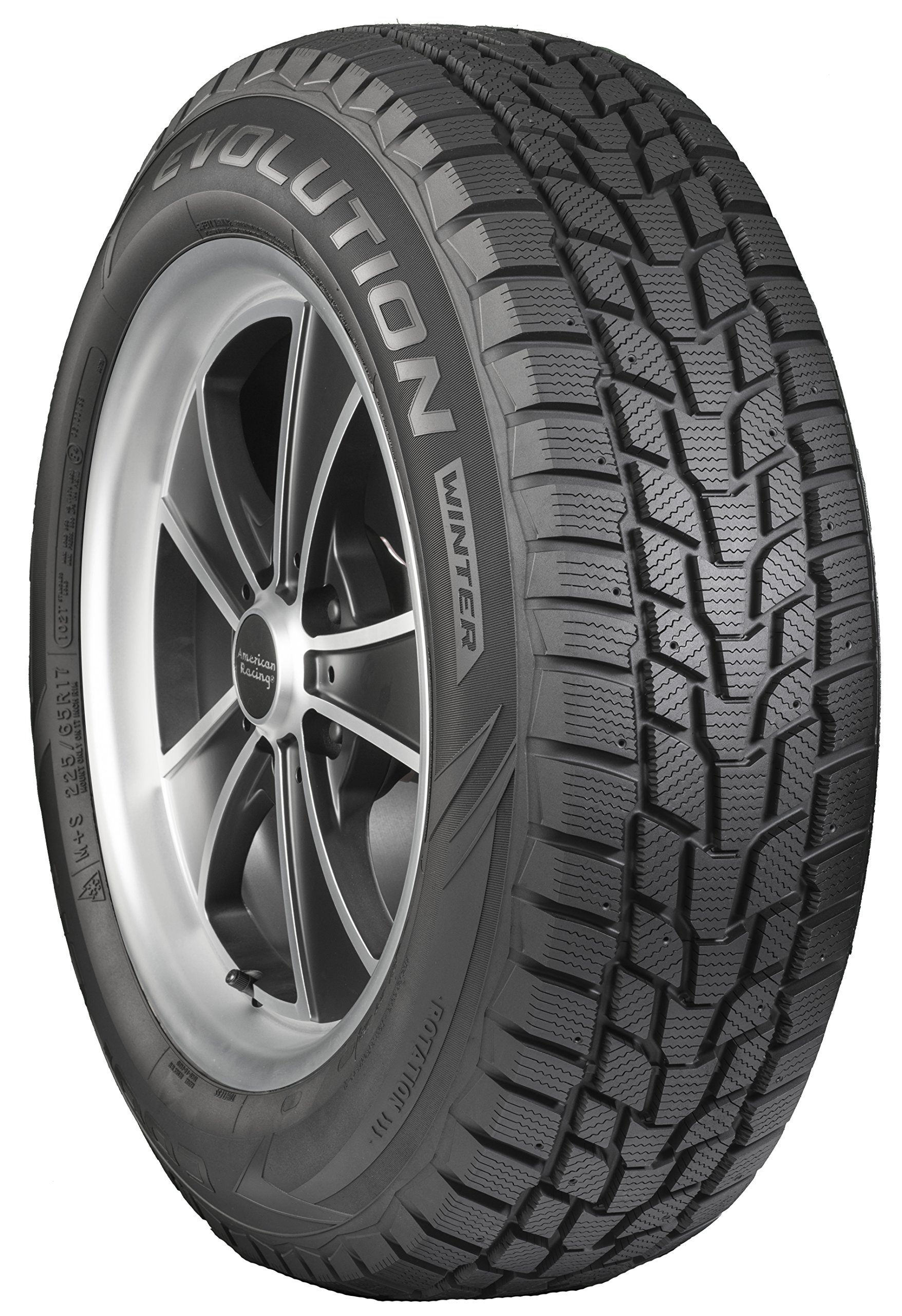 Cooper Evolution Winter Studable-Winter Radial Tire - 225/65R17 102T by Cooper Tire