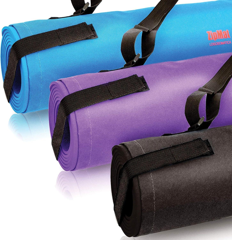 Atrumly Tappetino da yoga antiscivolo 4 mm Eva Fitness Slim Yoga Home Palestra Esercizi Pad Fitness Mat