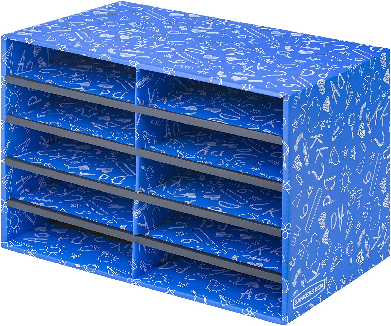 Bankers Box Classroom 10 Compartment Literature Organizer, Single (3384201)