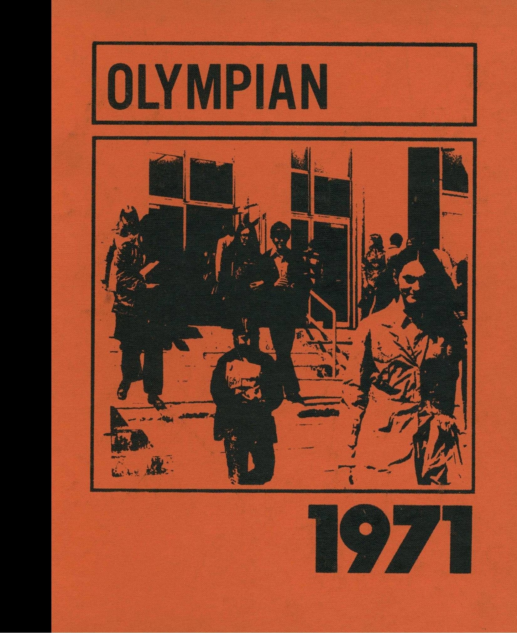 Reprint 1971 Yearbook Biddeford High School Biddeford Maine Biddeford High School 1971 Yearbook Staff Of Amazon Com Books