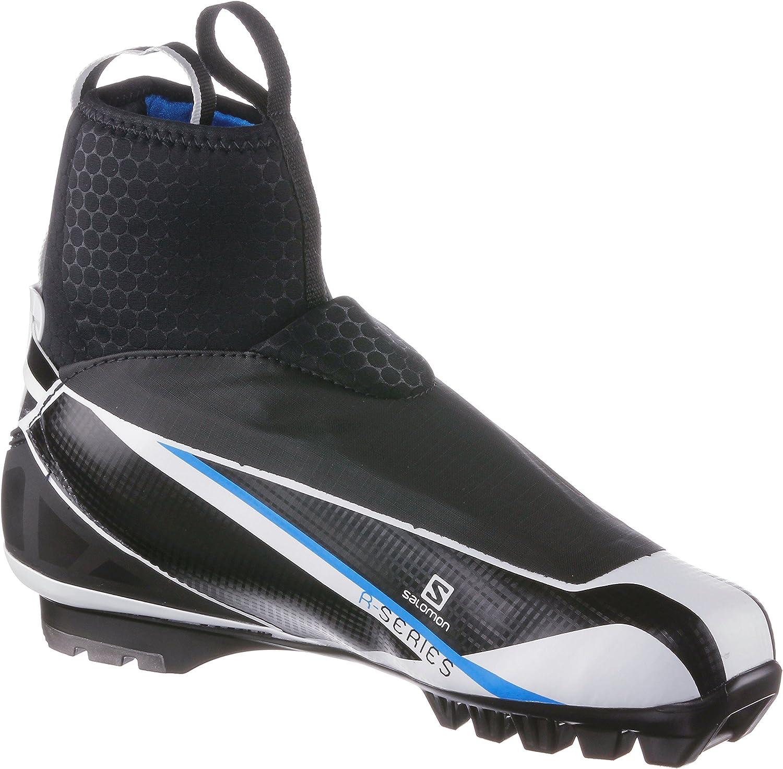 Salomon mens cross country ski boots RC carbon classic technique.
