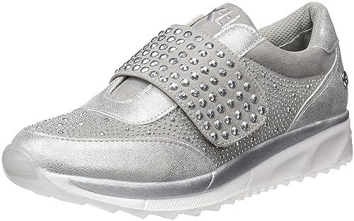 47786, Zapatillas para Mujer, Plateado (Platinium), 37 EU Xti
