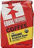 Equal Exchange Organic Coffee, Breakfast Blend, Ground, 12-Ounce Bag