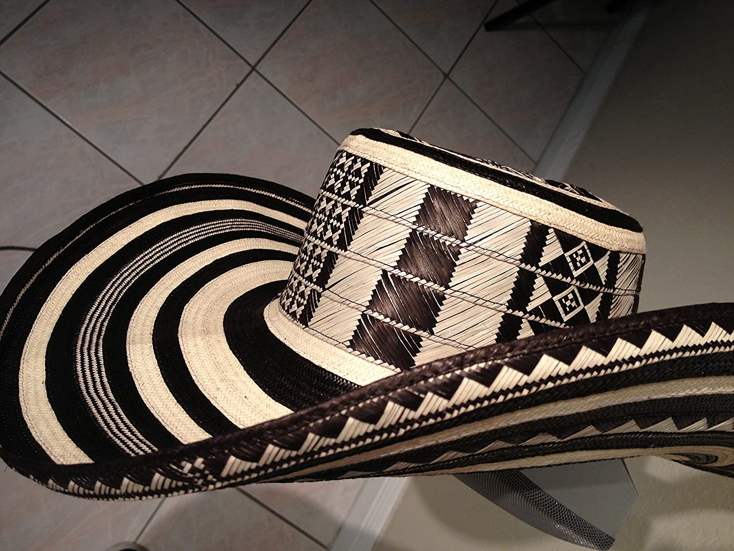 ebc4b49a3dd0e Amazon.com   Beautiful Colombian Sombrero Vueltiao Made By Colombian  Artisans   Everything Else