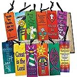 Mega Religious Bookmark Assortment (12 dozen) - Bulk