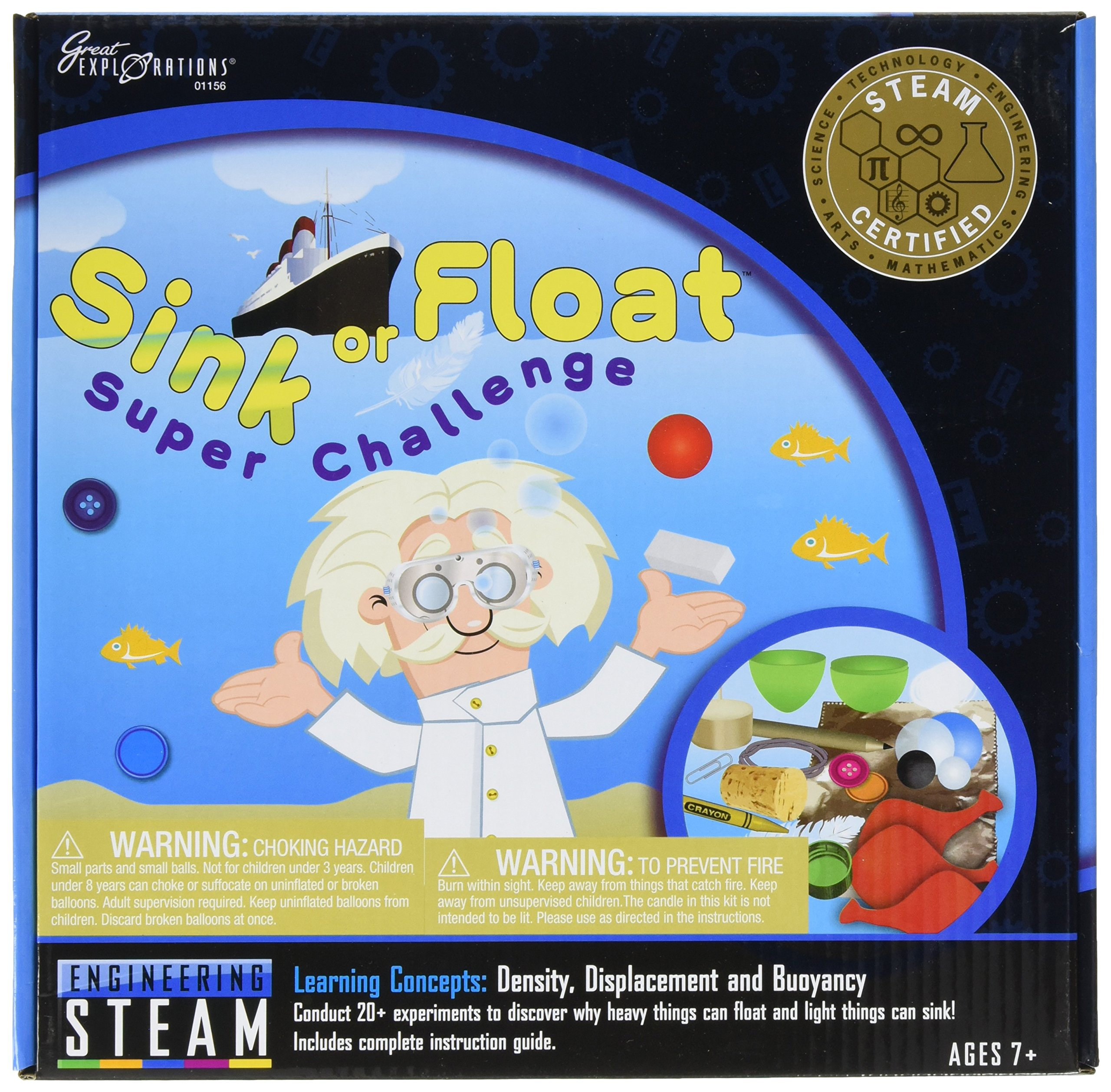 University Games Great Explorations Sink or Float