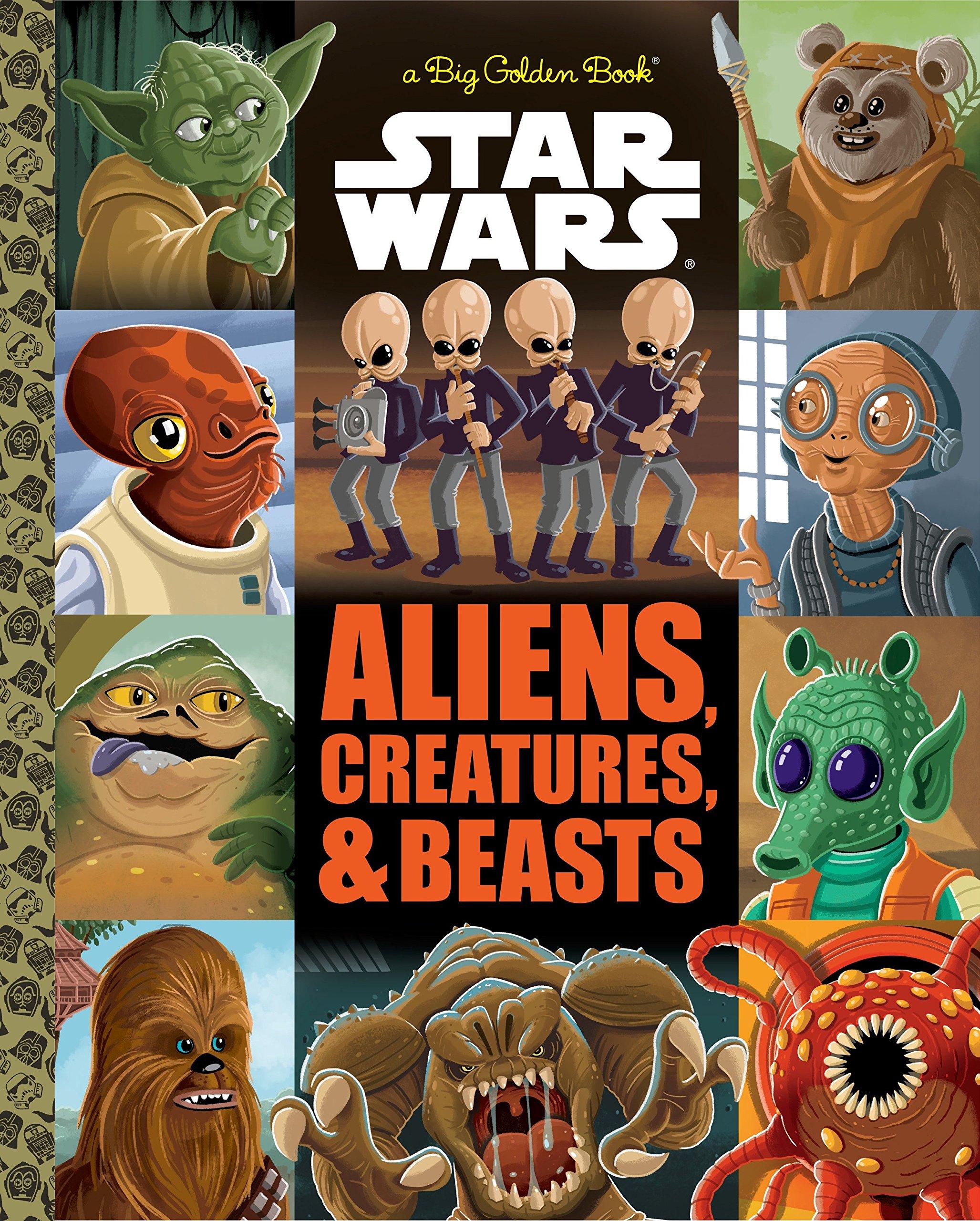 The Big Golden Book of Aliens, Creatures, and Beasts (Star Wars): Thomas  Macri, Chris Kennett: 9780736436915: Amazon.com: Books