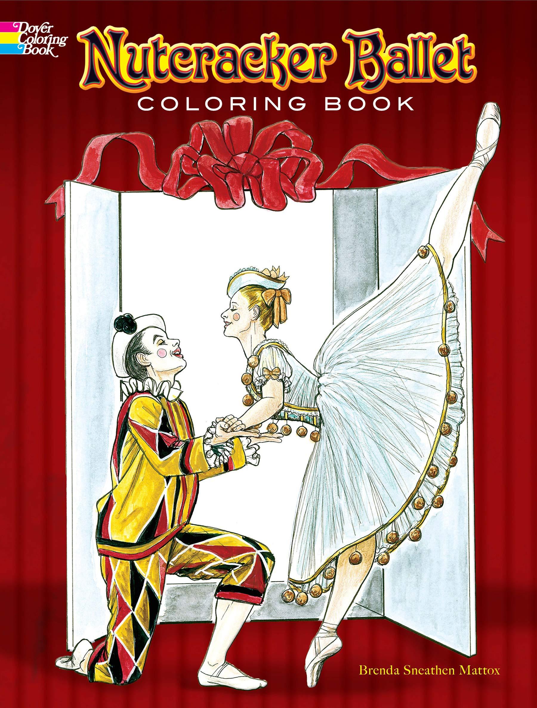 Nutcracker Ballet Coloring Pages - GetColoringPages.com | 2372x1800