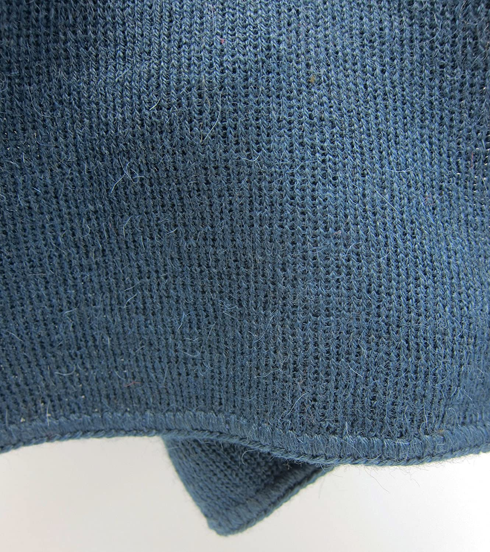 Arizona Smoky Blue Made to Order Men and Women Handmade PURE Alpaca Scarf