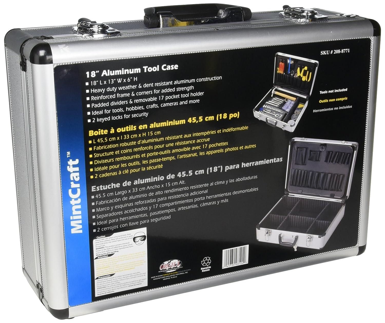 Amazon.com: MINTCRAFT JL-10054 Case Aluminum 18 X 13 X 6: Home ...