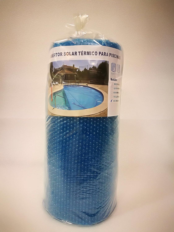 Ion Pure Cobertor Solar para Piscina, Azul, 8 x 4 m, IP-Express8x4: Amazon.es: Jardín
