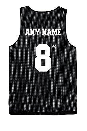 7f12baea5462 Amazon.com  Custom Reversible Basketball Jersey Screen Printed on ...