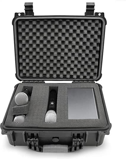 Fits Sennheiser STUDIOCASE Wireless Microphone System Hard Case w// Foam ,