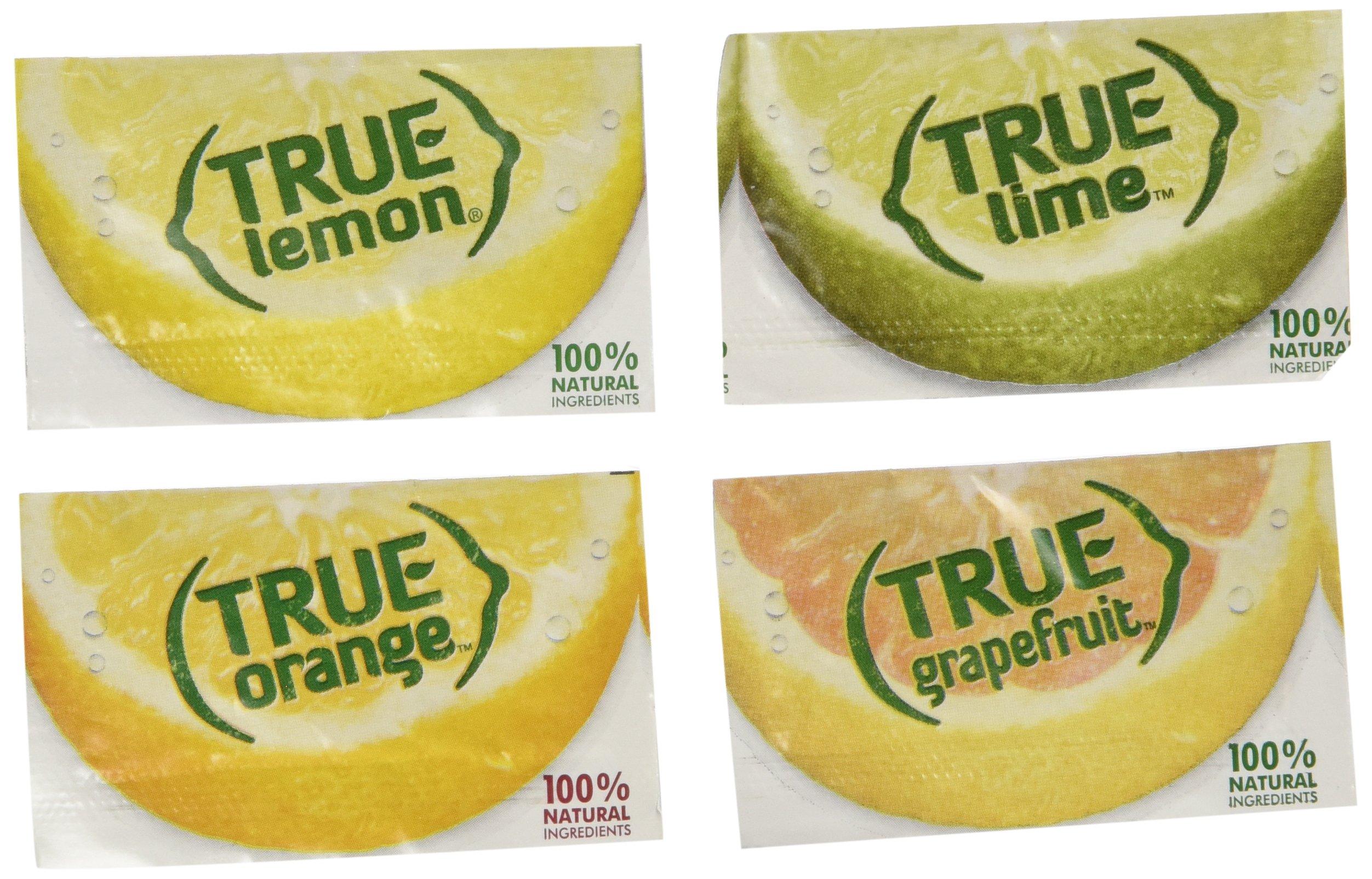 True Lemon, Lime, Orange & Grapefruit Bulk Packets Assorted 256 Ct by True Citrus
