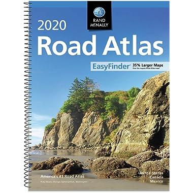 Rand McNally 2020 EasyFinder® Midsize Road Atlas