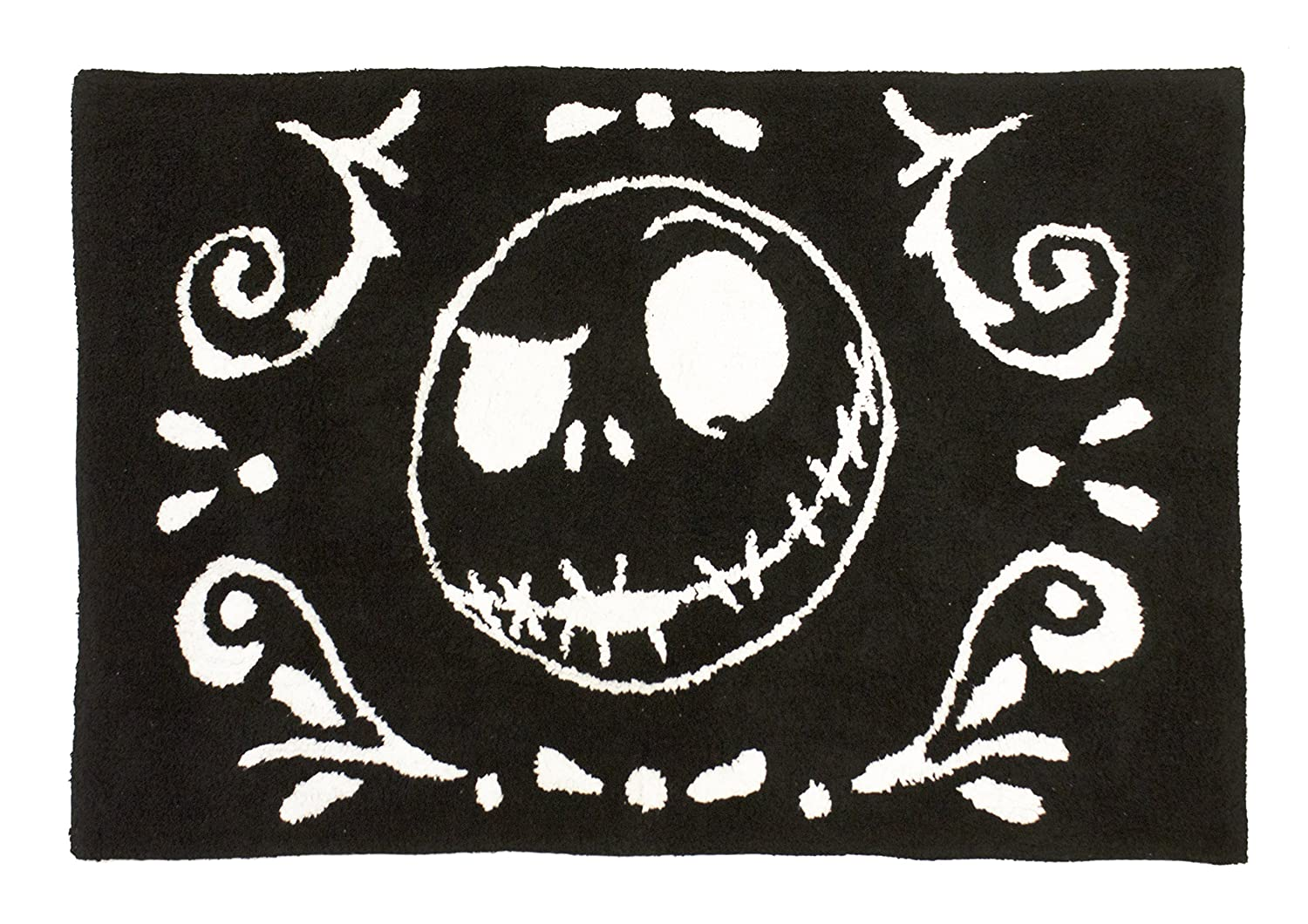 Disney Nightmare Before Christmas Meant To Be Cotton Tufted Bath Rug Jay Franco & Sons JF07781