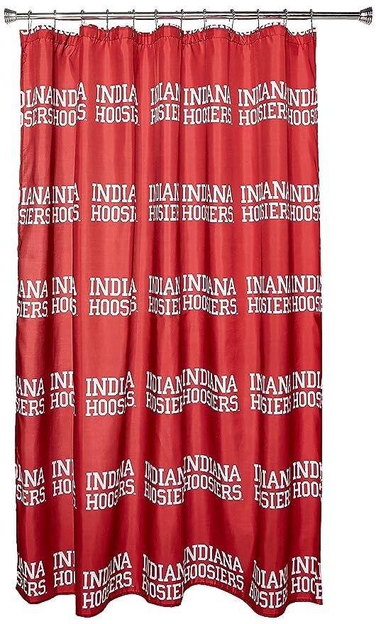 Ordinaire NCAA Arkansas Razorbacks Shower Curtain