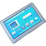 """EvoDigitals Silver 16GB 4.3"""" Touch Screen MP3 MP4 MP5 Player With TV OUT Equaliser - Videos 