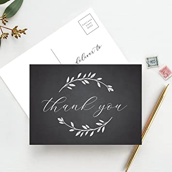 thank you postcards thank you cards wedding bridal shower baby shower or special