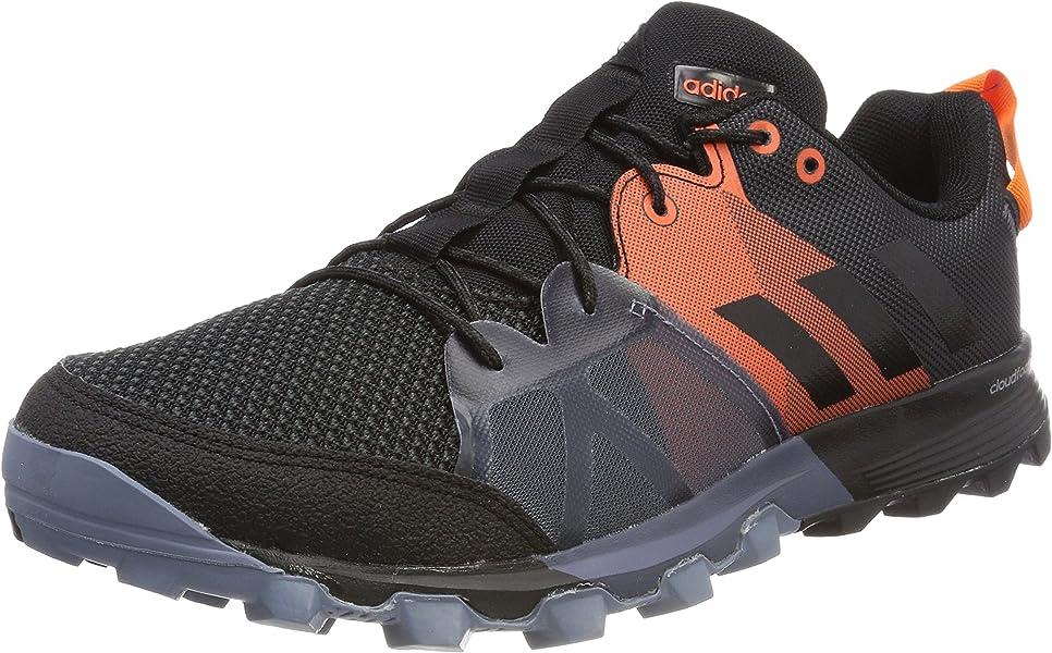 0c31c709859895 adidas Men s s Kanadia 8.1 TR Trail Running Shoes Multicolour (Carbon Core  Black Orange