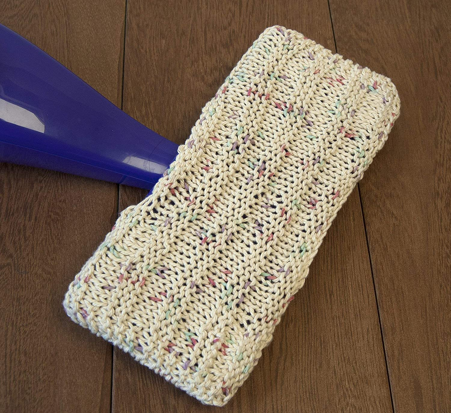 Amazon Set Of Two Reusable Knitted Swiffer W Jet Covers