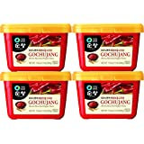 Chung Jung One Sunchang Hot Pepper Paste Gold, 4 Pack (500g)