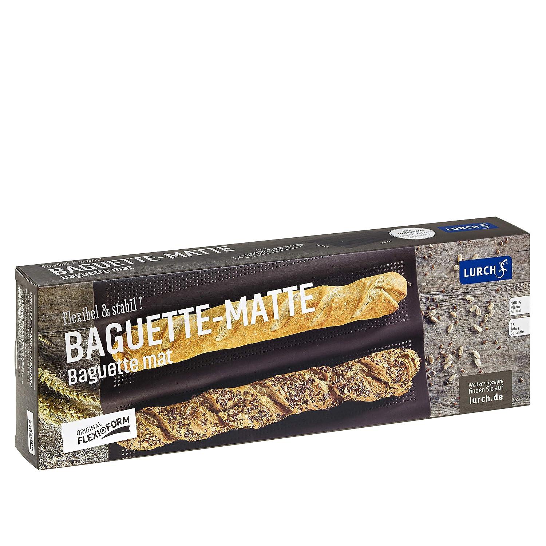 20 x 15 x 10 cm Lurch 85085 Moule /à la Baguette Flexiform pour 3 pcs Silicone Marron