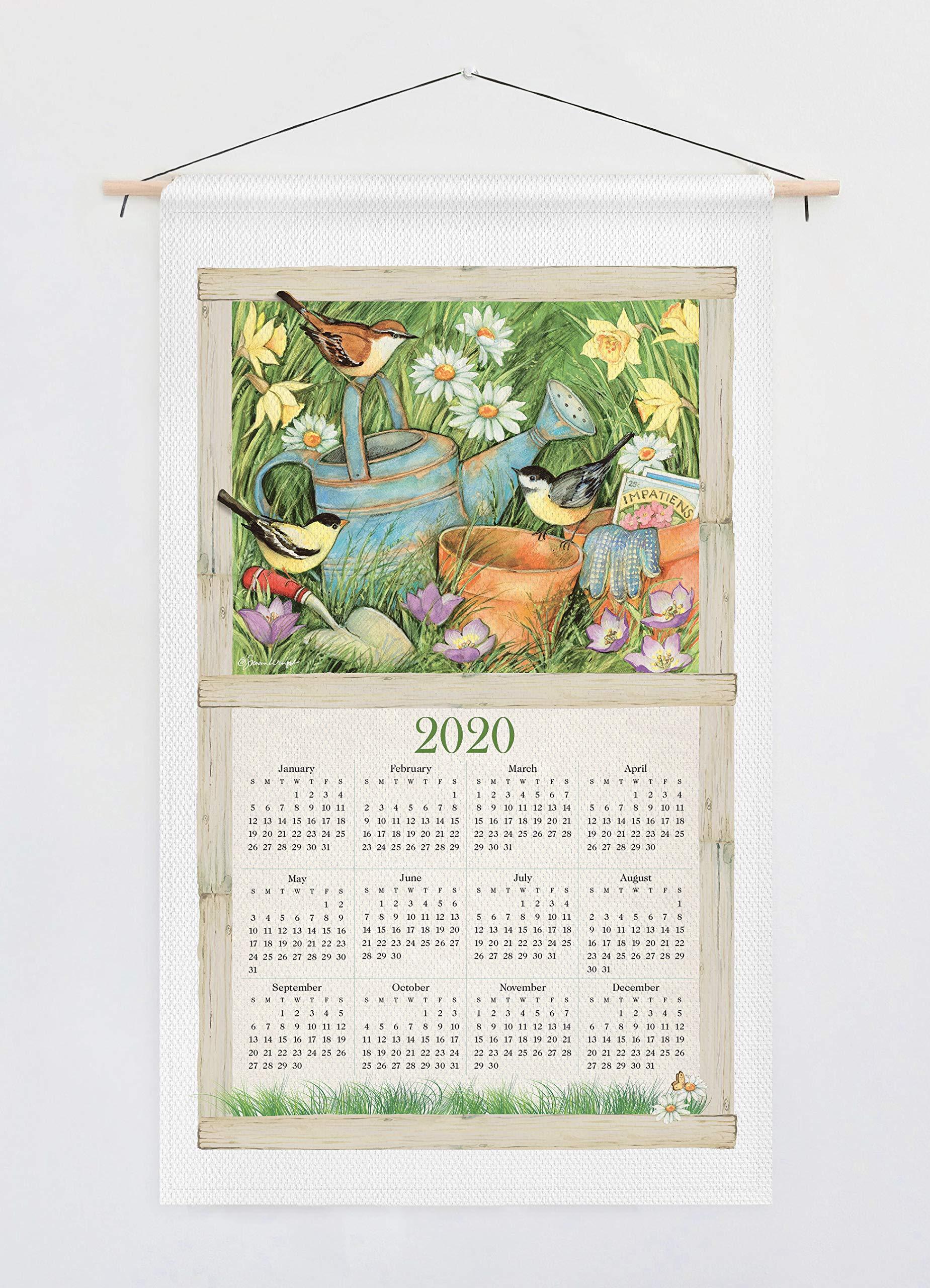 February Heart 2020 Calendar Home Is Where the Heart Is 2020 Calendar Towel: Willow Creek Press