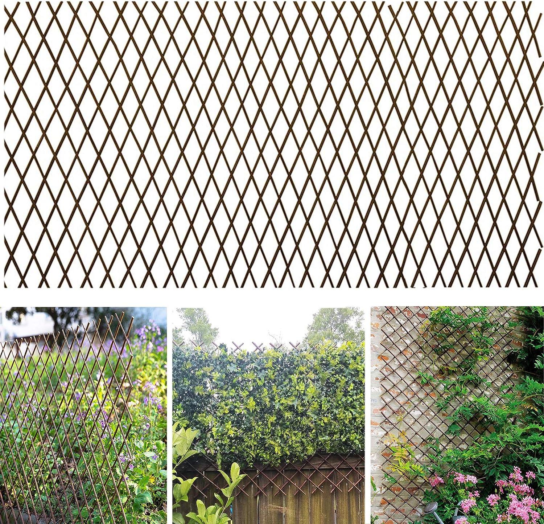 Amazon Com Melchef Nature Willow Trellis Expandable Plant