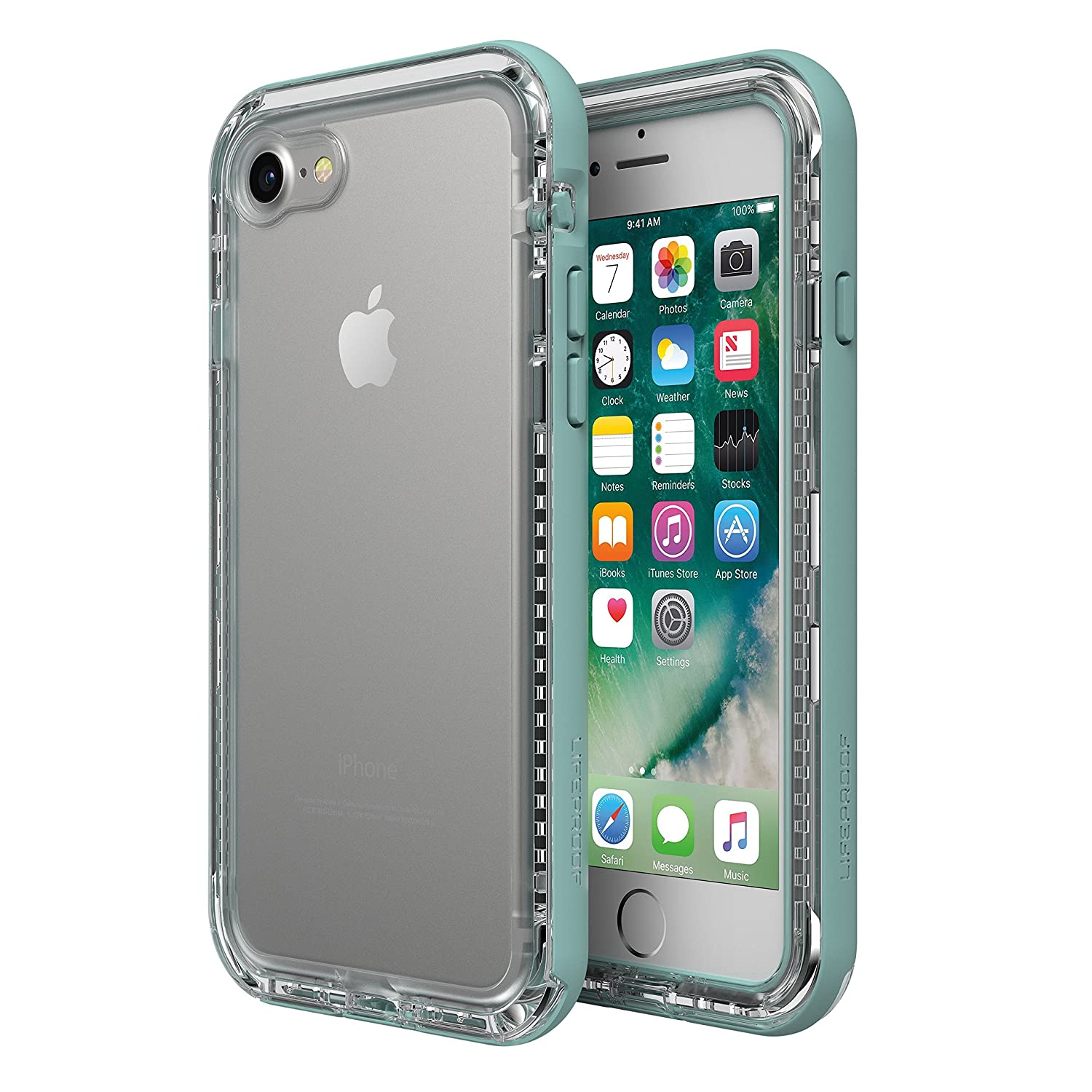 new concept baf98 637c1 LifeProof Next Case for iPhone 8 and iPhone 7 ONLY (NOT PLUS) Seaside