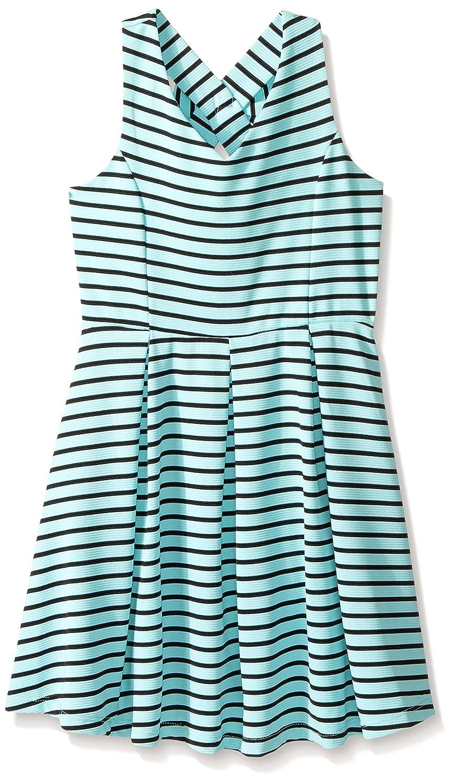 Top6  ZUNIE Girls  Sleeveless Knit Pleated Dress with Bow Back c6443f7de