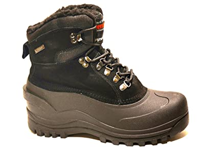 Amazon.com | LM Men's Winter Snow Boots WaterProof Insulated 1001 ...