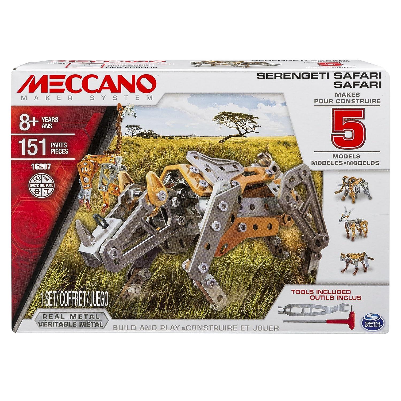Meccano Serengeti Safari Safari Multimodels de septiembre Modelos
