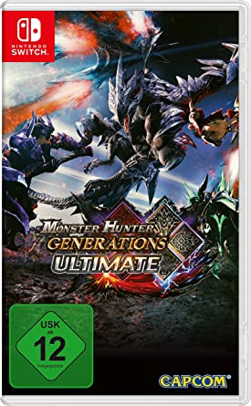 Monster Hunter Generations Ultimate [Nintendo Switch ] [Importación alemana]: Amazon.es: Videojuegos