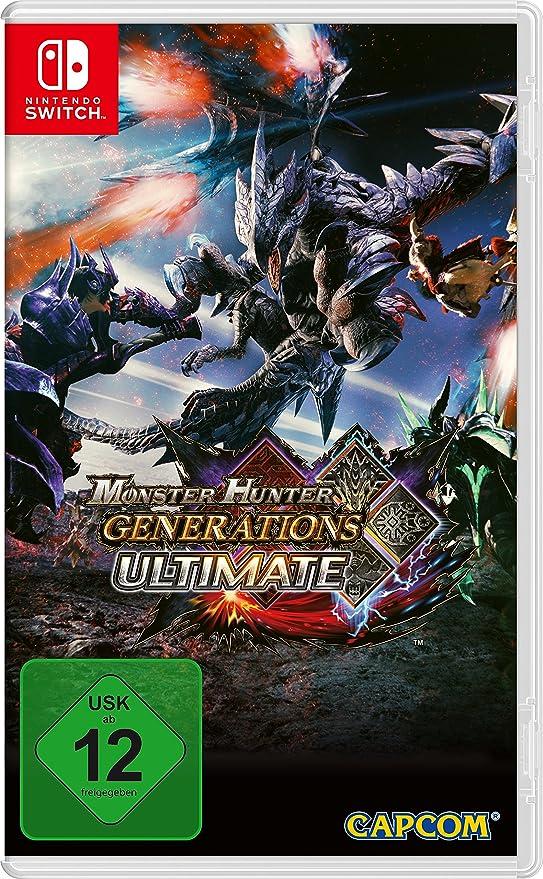 Monster Hunter Generations Ultimate [Nintendo Switch ] [Importación alemana]: Amazon.es: Videojuegos